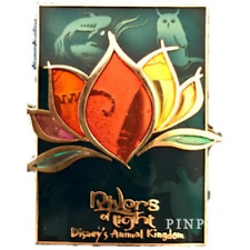 Disney Pin WDW 120773 Rivers of Light Stained Glass Animal Kingdom Attraction