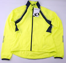 Pearl Izumi Women's Elite Barrier Convertible Cycling Jacket Small Yellow