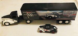 Ertl Racing Hauler Curtis Crawfish Crider Semi Truck And Bonus Ford Race Car