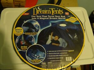 NEW Dream Tents Space Adventure Twin As Seen On TV Blue NIP