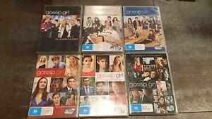 GOSSIP GIRL - SEASONS 1 2 3 4 5 6 DVD BOX SET TV SERIES - Great used condition