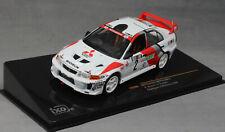 IXO Mitsubishi Lancer Evo V Champions Meeting 1998 Richard Burns KB1066 1/43 NEW