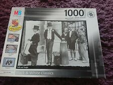 """MB PUZZLES Black & White Classics 1000 Piece Jigsaw Puzzle """"Toffs and Toughs"""""""