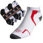 12 Pairs US Polo Assn Low Cut Ankle Socks Men Women Ladies Boy Girl Black White