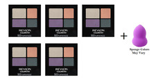 Revlon Colorstay 16 Hr Eye Shadow Quad, #503 Flirtatious (5 Pk) + Makeup Sponge