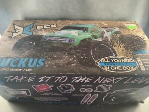 ECX Ruckus 1/10 2WD Green Monster Truck In Box