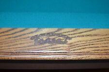 Olhausen Sheraton Oak Laminate 8', 8 Ft, 8 Feet Pool Table - Green - USA Made