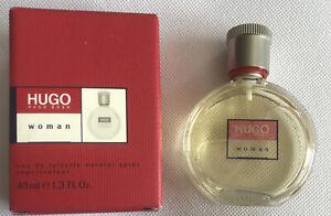Hugo Boss WOMAN Eau de Toilette 40ml Spray  Boxed Tried Once Hardly Used