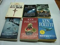 (Follett) Lotto 6 volumi Ken Follett titoli nelle note   Mondadori