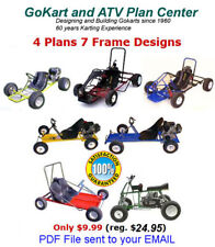 Gokart Plans Pdf sent to email today - Offroad Atv Quad Bike 4 plans 7 designs.