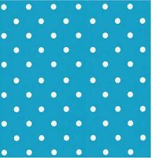 Klebefolie Möbelfolie Dots hellblau selbstklebende Folie Punkte aqua  45x200cm