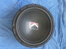 Subwoofer kicker s12 Solo Baric