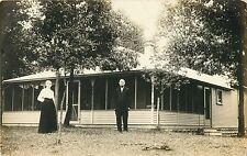 """""""Our Cottage At The Lake""""  Waupaca, Wisconsin WI RPPC"""