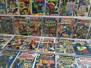 50 Marvel Silver Lot Super-Heroes 1 13 Captain America 103 Tales to Astonish 58