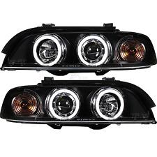 Scheinwerfer Set BMW E39 Limousine Touring Bj. 95-00 hell weiße CCFL Angel Eyes