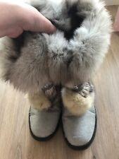 Warm sheepskin/rabbit ladies winter boots SIZE 39