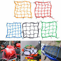 6 Hooks Hold Down Cargo Luggage Helmet Net Mesh for Motorcycle Motorbike A RDUJ