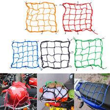 6 Hooks Hold Down Cargo Luggage Helmet Net Mesh for Motorcycle Motorbike RDUK