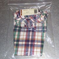 Longaberger Woven Traditions Plaid SPRING Basket Liner ~ Brand New in Package!