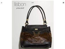 Miche Lisbon Luxe Prima Shell- Black Leopard Print - Handles & Dust Bag - NEW!