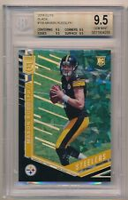 2018 Panini Elite Mason Rudolph #155 Black Ice True 1/1 Rookie RC BGS 9.5 Gem