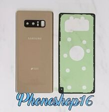 Original Samsung Galaxy Note 8 N950F Akkudeckel Deckel Backcover Cover Gold DUOS