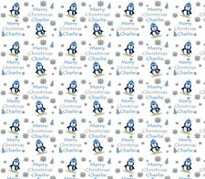 Personalised Christmas Gift Wrap PENGUINS 2018 Wrapping Paper