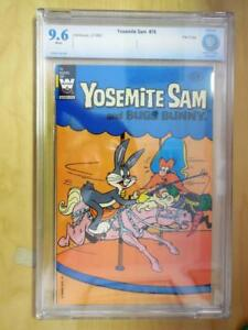 Yosemite Sam 76 CBCS Graded 9.6 1982 Whitman File Copy - Highest Graded Copy