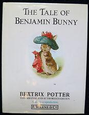 The Tale of Benjamin Bunny by Beatrix Potter (Hardback, 1989) RARE Classic