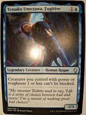 4 x TETSUKO UMEZAWA FUGITIVE NM mtg Dominaria Blue Human Rogue Unc