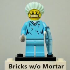 New Genuine LEGO Surgeon Minifig with X-ray Tile Series 6 8827