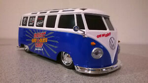 1:24 SCALE RADIO CONTROLLED LOWERED VW BUS VAN (working headlights)