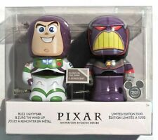 D23 2017 Expo Disney Store Toy Story Wind-Up Buzz Lightyear & Zurg LE 1500