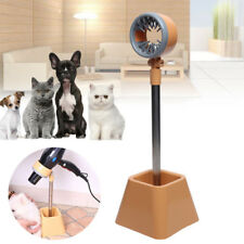 Stainless Steel Pet Grooming Table Hair Dryer Stand Hands-Free Tool 180° Rotary