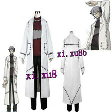 TOP Sale Soul Eater Franken Stein Doctor Cosplay Costume Perfect Suit Any Size