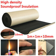 1m*1m*10mm High Density Car Soundproofing Acoustic Foam Panel Mat With Back Glue