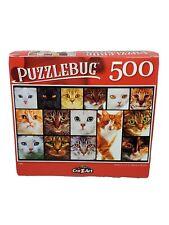 "Puzzlebug 500 Piece Jigsaw Puzzle ""CATS"" 18.25""x11"" Family Fun"