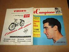 RIVISTA SPORTIVA IL CAMPIONE ANNO 1956 ANNO II° N°50 GIRARDENGO PIOLA PANDOLFINI