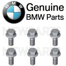 For BMW Set of 6 Exhaust Flap Control Valve Actuator Nut SCREWS Hex Bolts OES