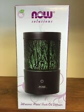 NOW Foods Solutions Ultrasonic Metal Touch Oil Diffuser  Aromamister Ships Free