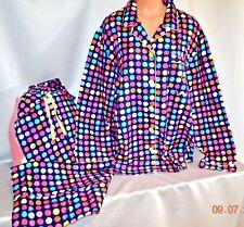 Victorias Secret AFTER PARTY Flannel Pajama Set Pajamas NWT XL