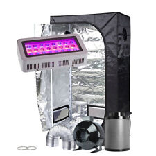"300W LED Grow Light +36""x20""x63""Grow Tent+4"" Ventilation Kit Indoor Plant Grow"