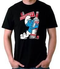 Camiseta Hombre Smurfnoff Funny Pitufo t-shirt manga  corta chico