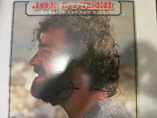 JOE COCKER SIGNED LP IN PERSON COA + EXACT PROOF!  WOODSTOCK AUTOGRAPH