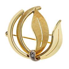 Reinheit SI Echtschmuck-Broschen & -Anstecknadeln aus mehrfarbigem Gold für Damen