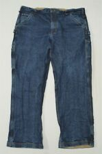 Duluth Trading Co 40 x 30 Carpenter Flex Ballroom Dark Denim Jeans