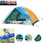 Folding 2 Person Outdoor Camping Tent Waterproof 4 Season Hiking Family Tent