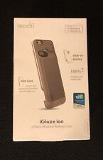Moshi Iglaze Iphone 6, 6s Battery Charging case - New GRAY - 2 pieces