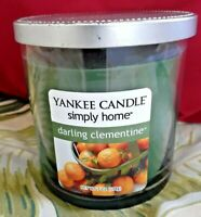 ❤ YANKEE CANDLE DARLING CLEMENTINE 7 oz HARD TO FIND RARE NEW FREE SHIPPING