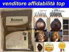 Microfibra di cheratina diradamento calvizie Hair Again alopecia RICARICA DA 50G
